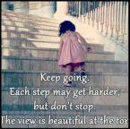 keep going girl